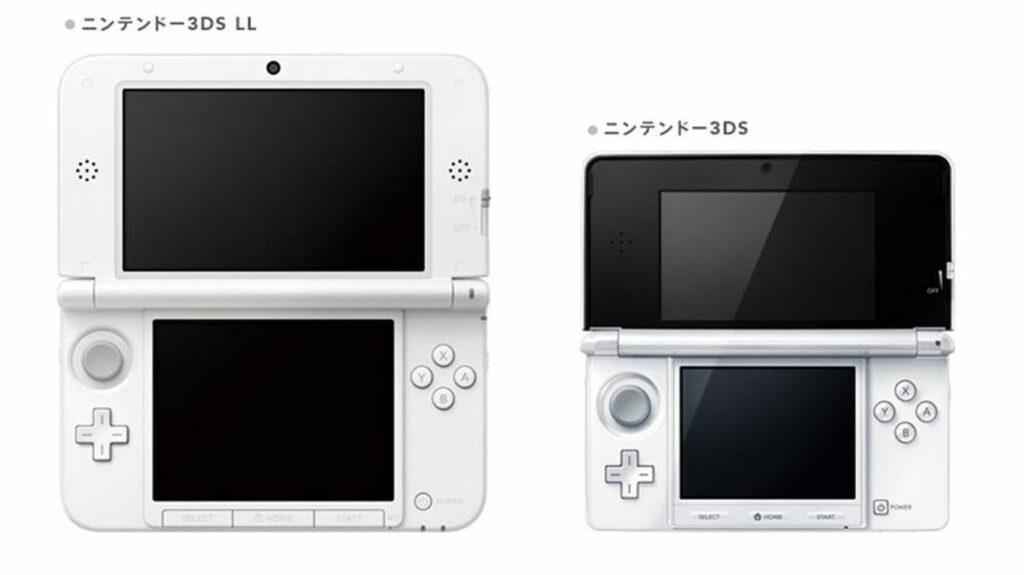 3DS vs 3DS XL dimensioni