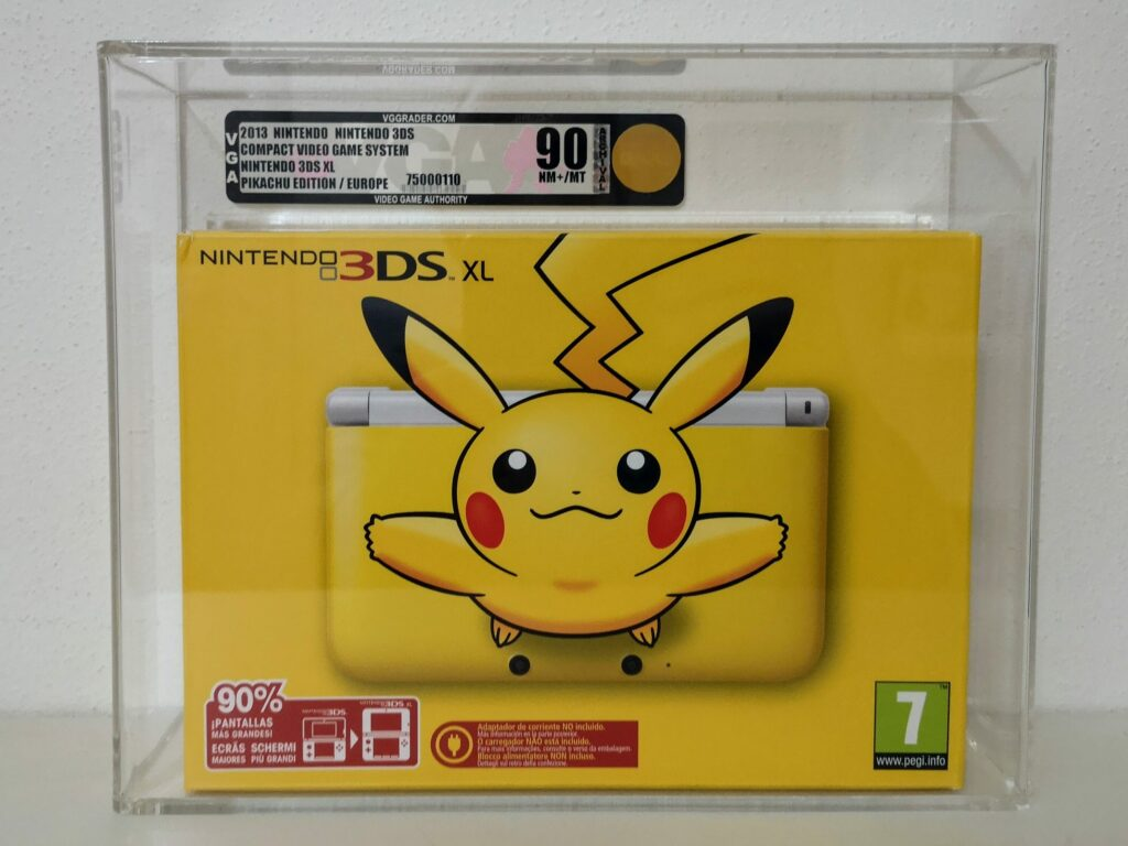 VGA-Graded Nintendo 3DS XL Pikachu