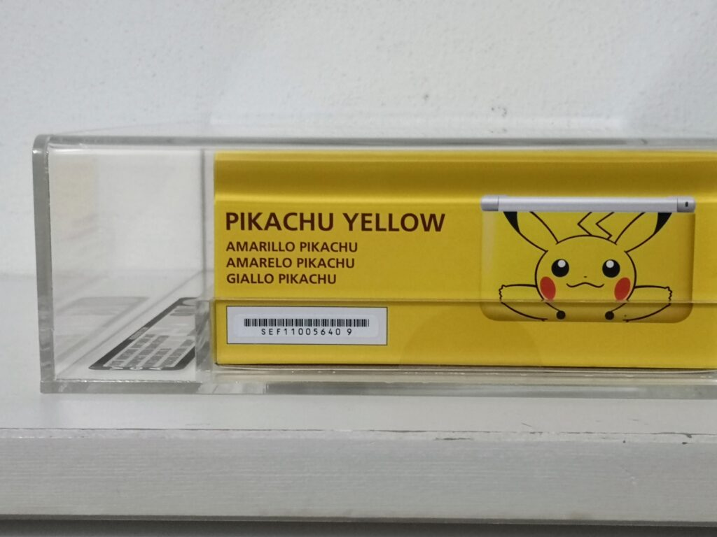 3DS XL Pikachu Sinistra