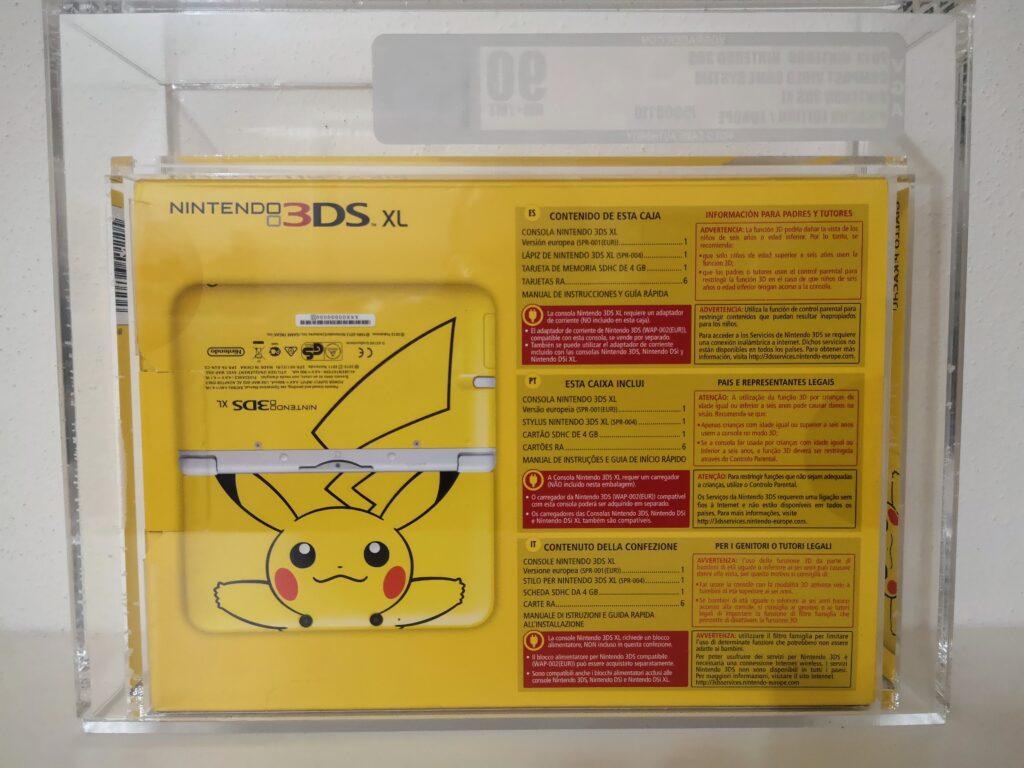 3DS XL Pikachu Retro