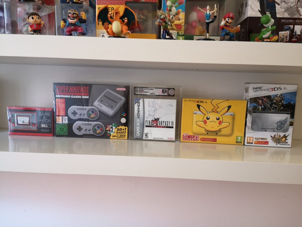 Nintendo Mini Classic, Nintendo 3DS XL