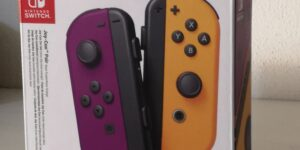 Nintendo Switch Joy-Con Neon Purple/Neon Orange