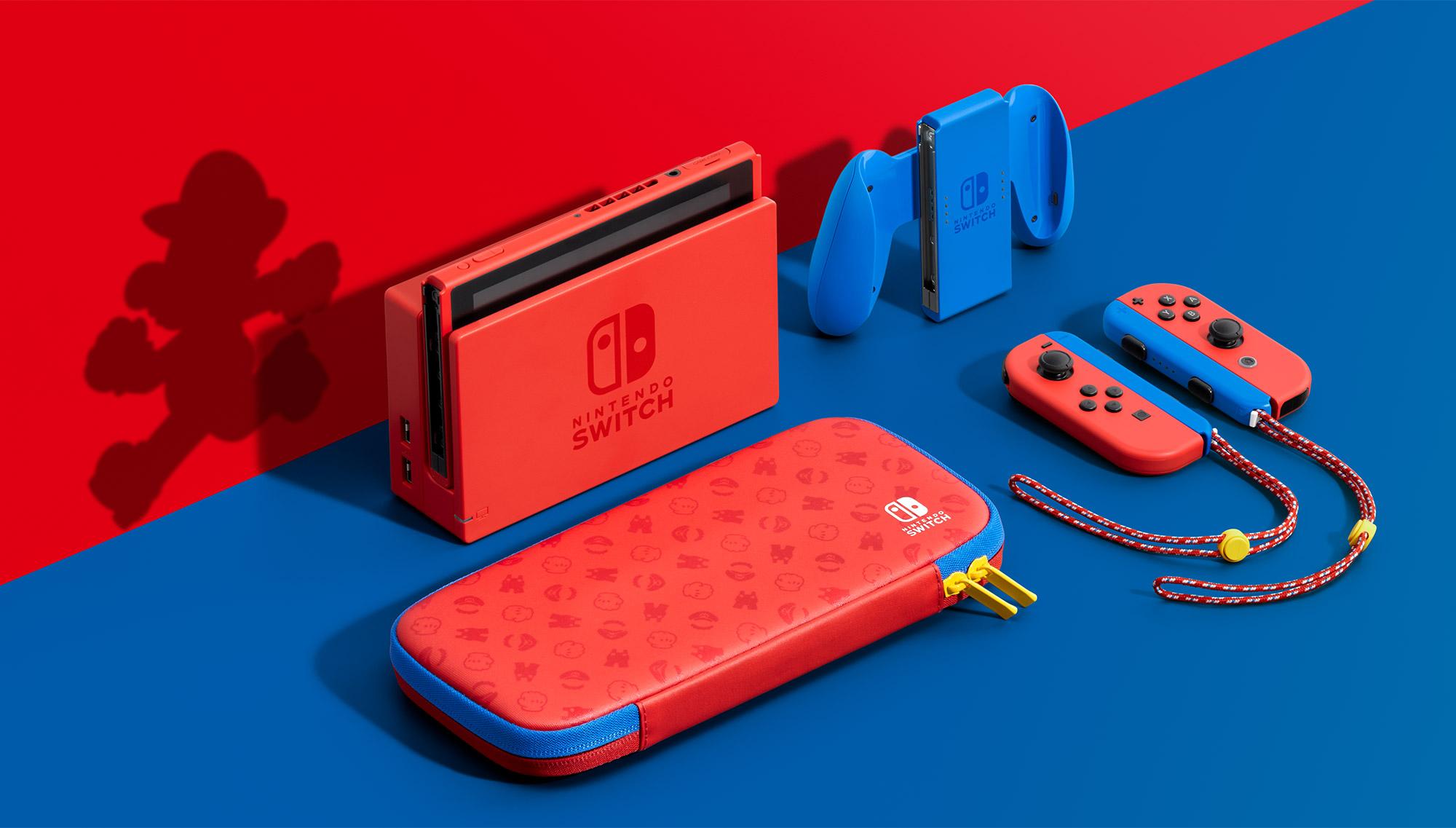 Nintendo Switch Mario Red & Blue Edition Presentazione
