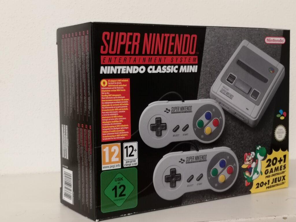Front Nintendo Classic Mini: SNES