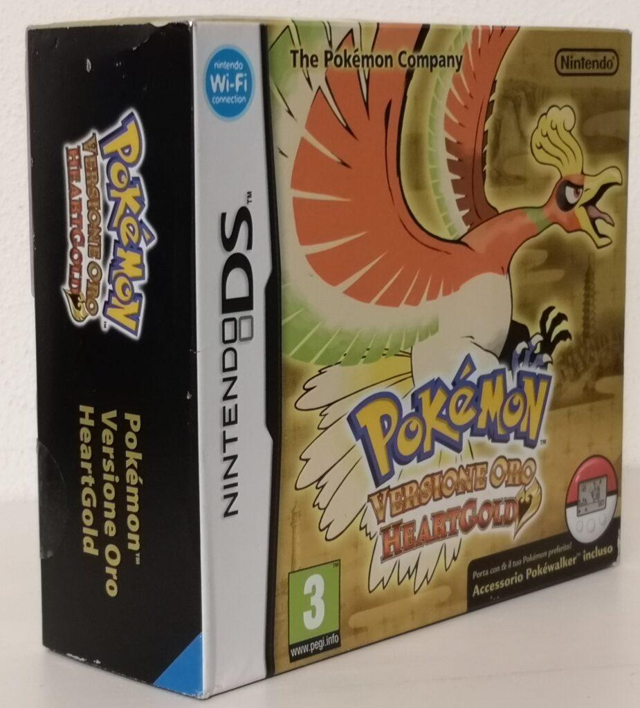 Pokémon Versione Oro HeartGold con Pokewalker