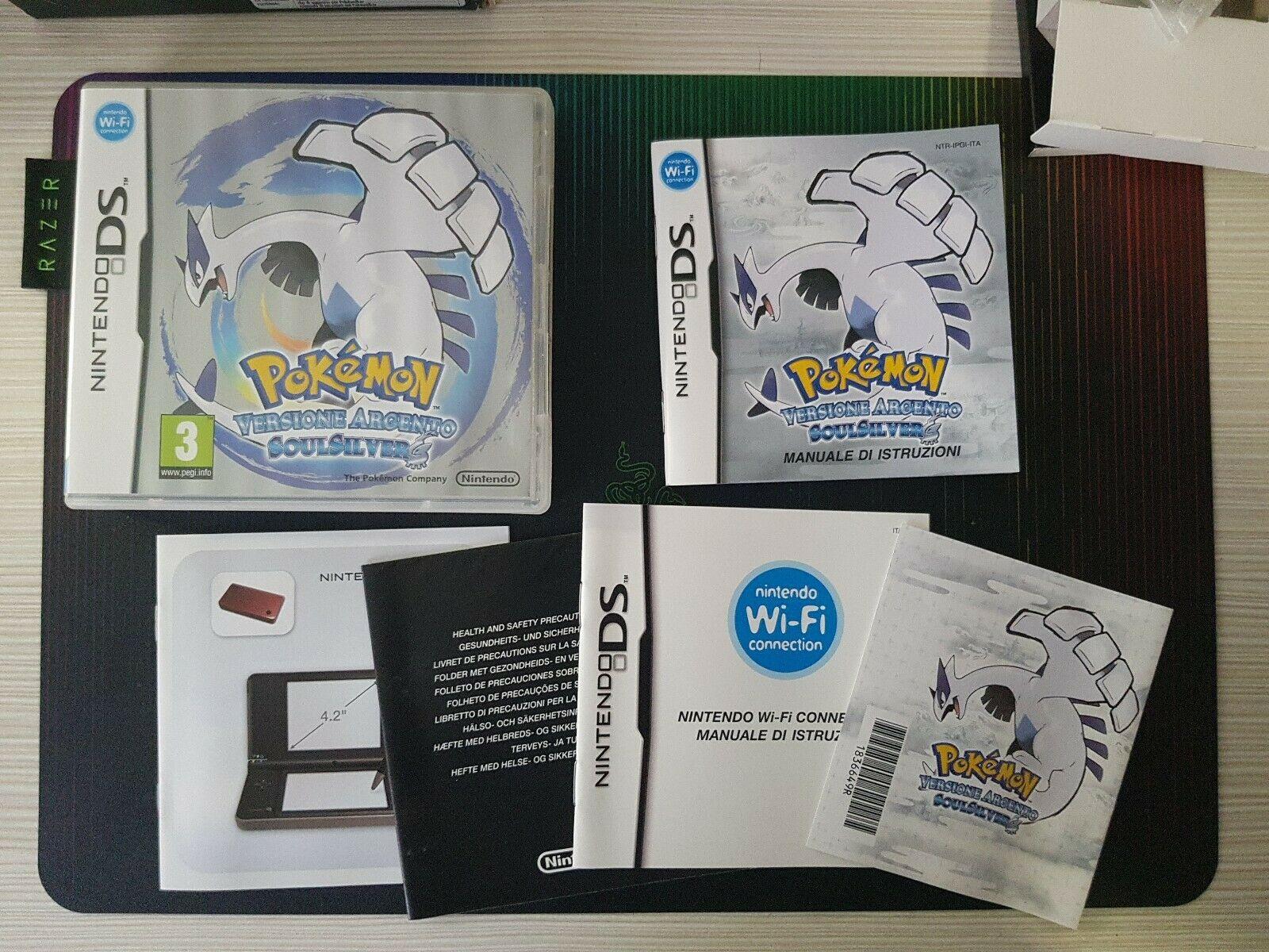 Dettaglio Pokémon Versione Argento SoulSilver con Pokewalker