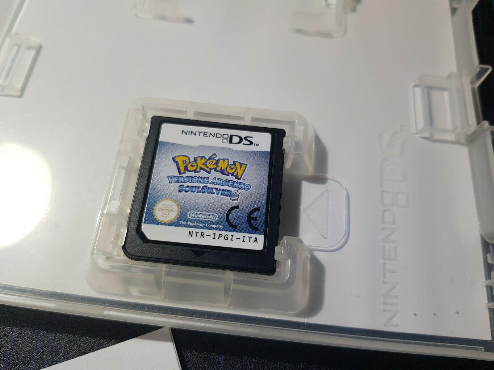 Scheda di gioco di Pokémon Versione Argento SoulSilver