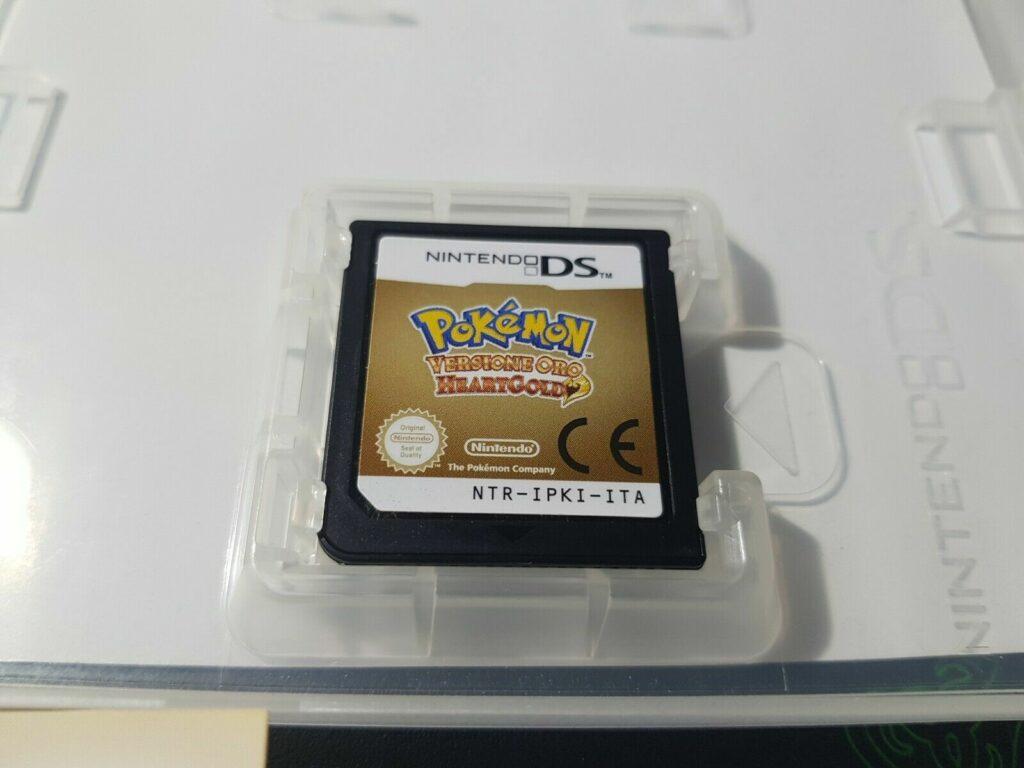 Scheda di gioco di Pokémon Versione Oro HeartGold
