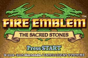 Schermata di gioco di Fire Emblem: The Sacred Stone, 01