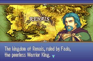 Schermata di gioco di Fire Emblem: The Sacred Stone, 09