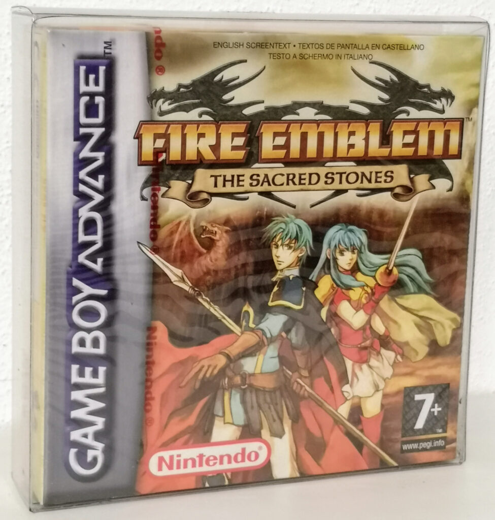Fire Emblem: The Sacred Stones, front cover