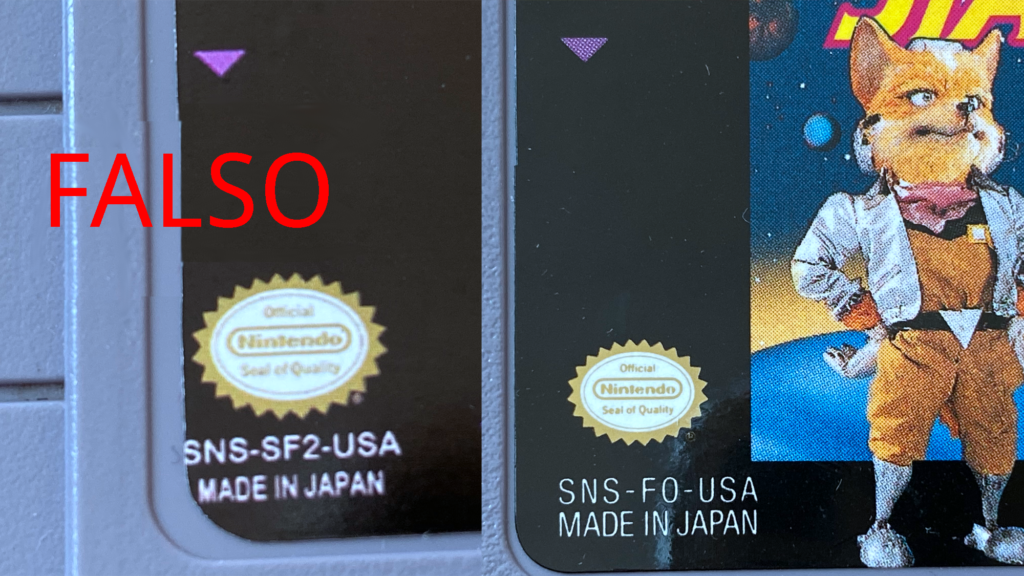 Real VS Fake SNES Cartridge