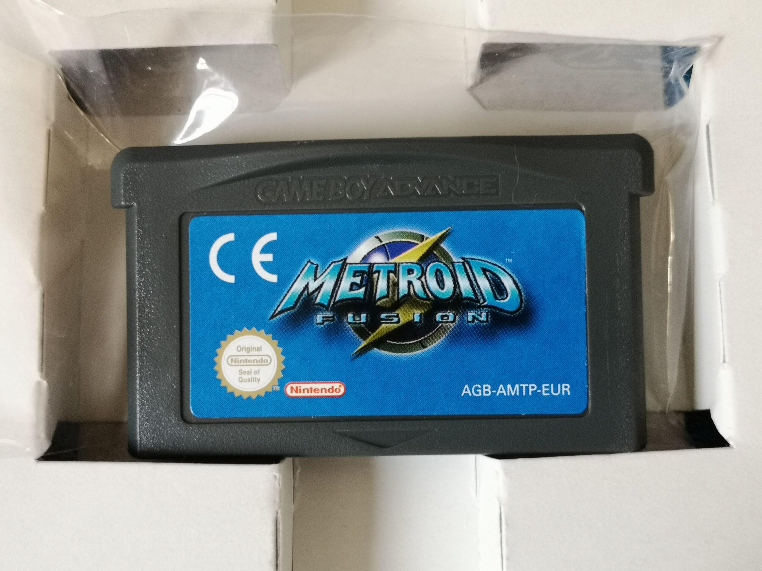 Metroid Fusion, dettagli scheda di gioco