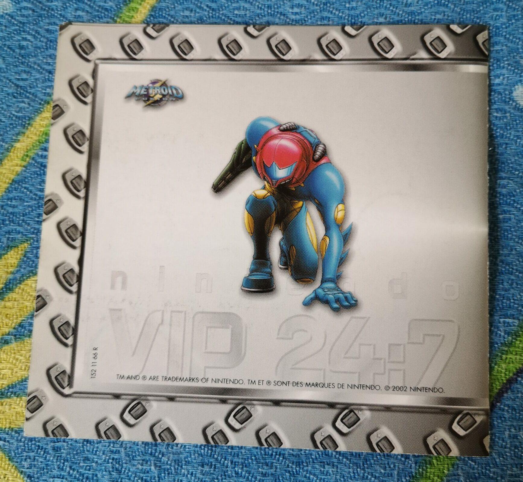 Metroid Fusion, dettagli cartaceo VIP 24:7