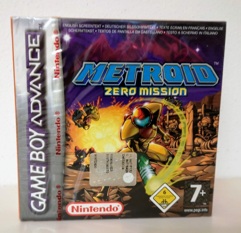 Metroid: Zero Mission, front cover