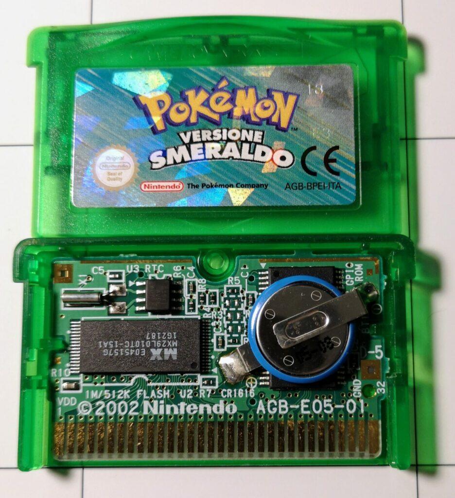Dettaglio PCB per Pokémon Versione Smeraldo