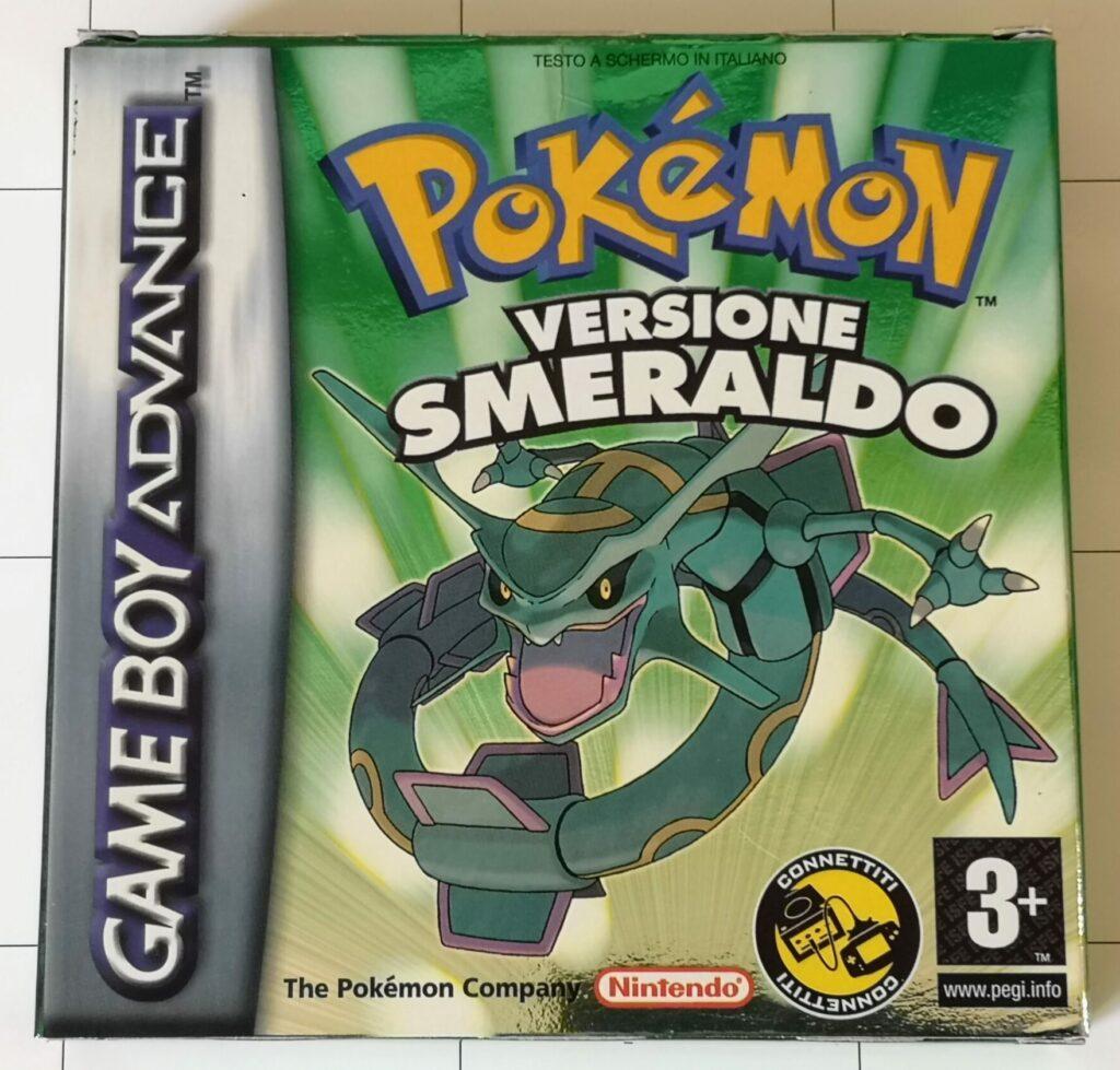 Pokemon Versione Smeraldo, copertina frontale