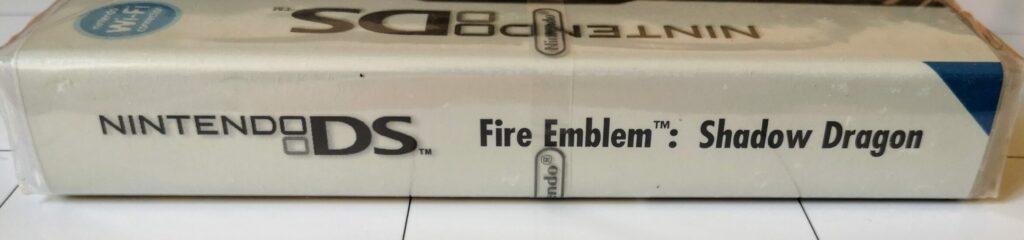Fire Emblem: Shadow Dragon, copertina dorso