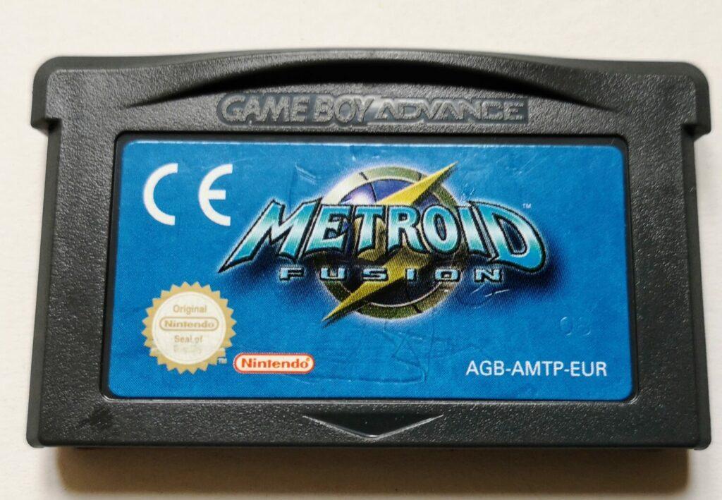Metroid Fusion (2002 NIntendo Game Boy Advance), dettagli scheda di gioco