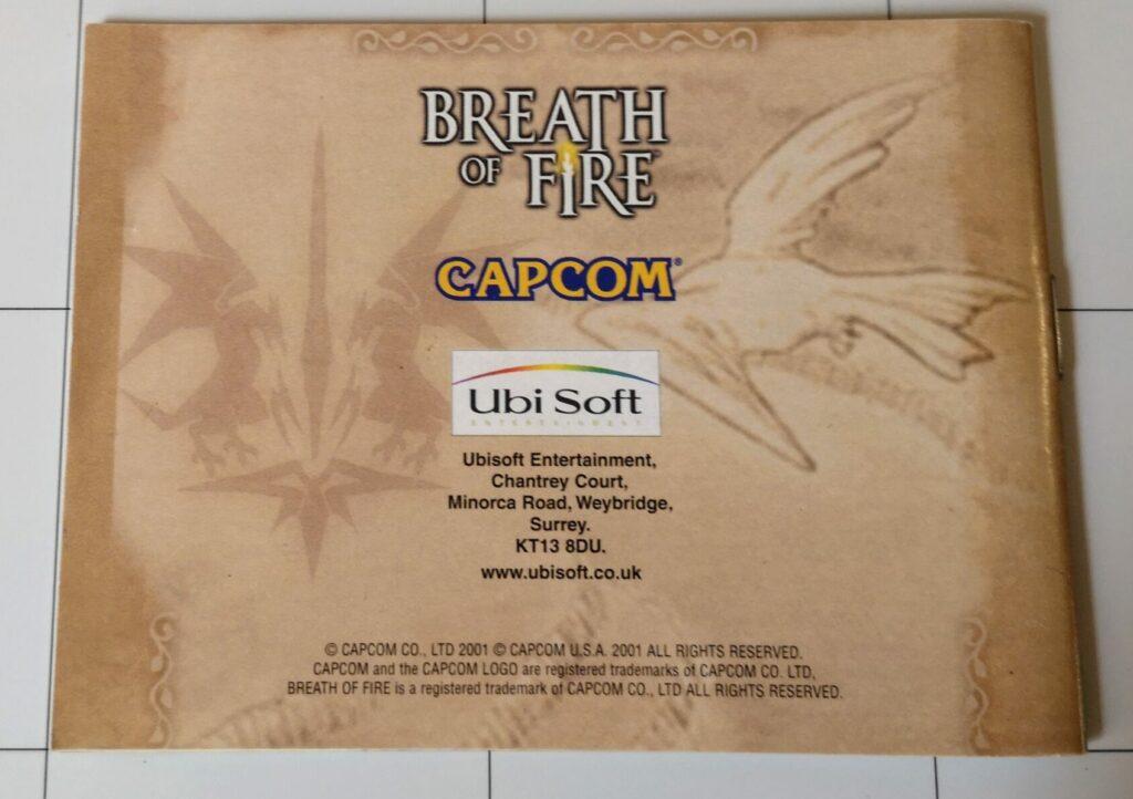 Breath OF Fire (GameBoy Advance, Capcom 2001), dettaglio 2