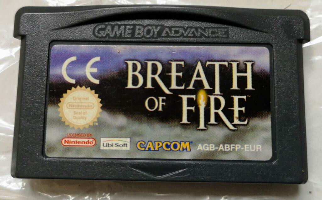 Breath of Fire (GameBoy Advance, Capcom 2001), scheda di gioco