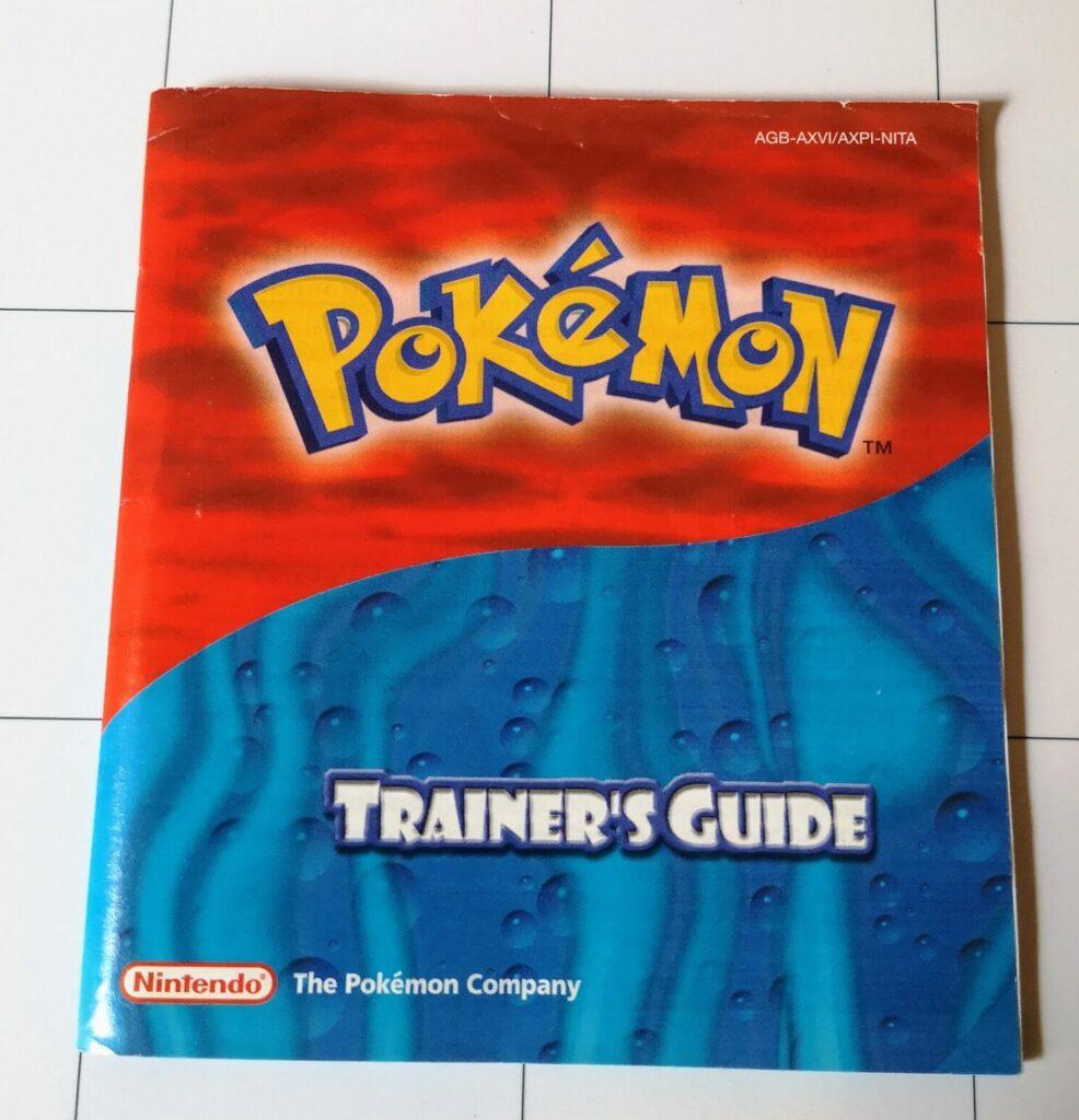 Pokémon Versione Zaffiro Trainer's Guide
