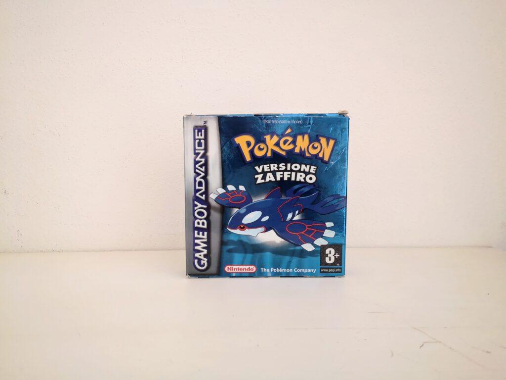 Pokémon Versione Zaffiro, copertina frontale