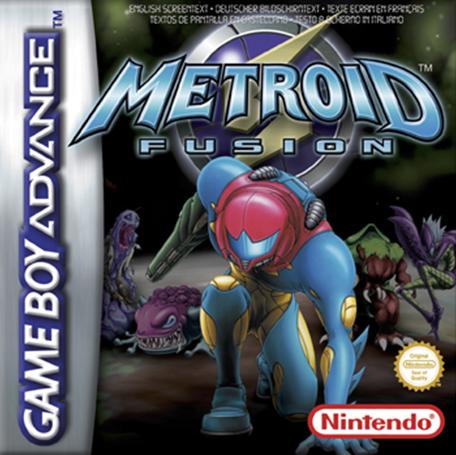 BoxArt Metroid Fusion