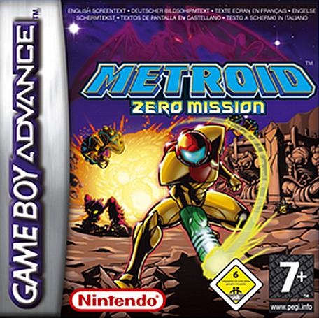 BoxArt Metroid: Zero Mission