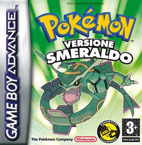 BoxArt Pokémon Versione Smeraldo