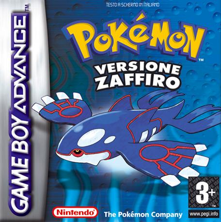 Pokémon Versione Zaffiro, BoxArt
