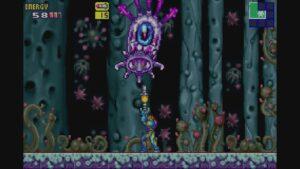 Schermata di gioco di Metroid Fusion, 04