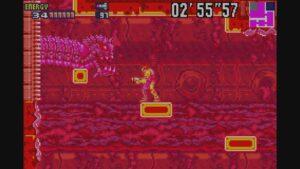 Schermata di gioco di Metroid Fusion, 05