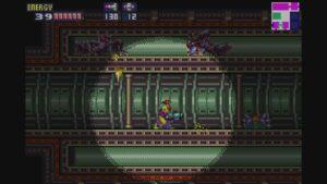 Schermata di gioco di Metroid Fusion, 06