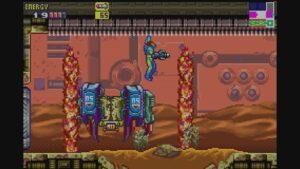 Schermata di gioco di Metroid Fusion, 07
