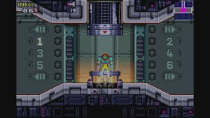 Schermata di gioco di Metroid Fusion, 08