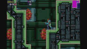 Schermata di gioco di Metroid Fusion, 10