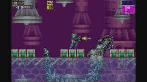 Schermata di gioco di Metroid Fusion, 11