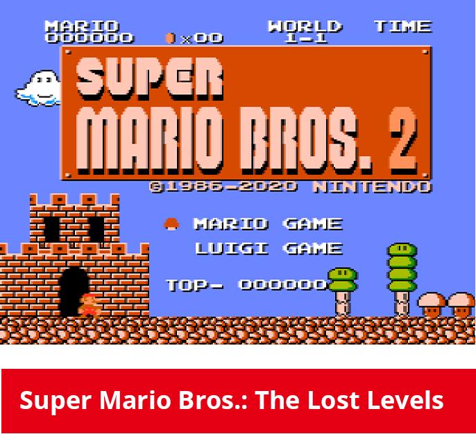 G&W: Super Mario Bros. Gioco 2
