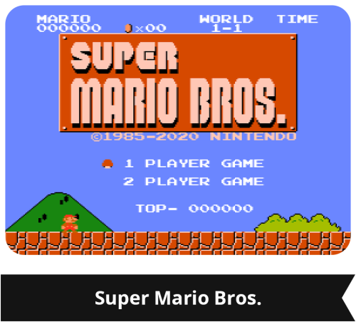 G&W: Super Mario Bros. Gioco 1
