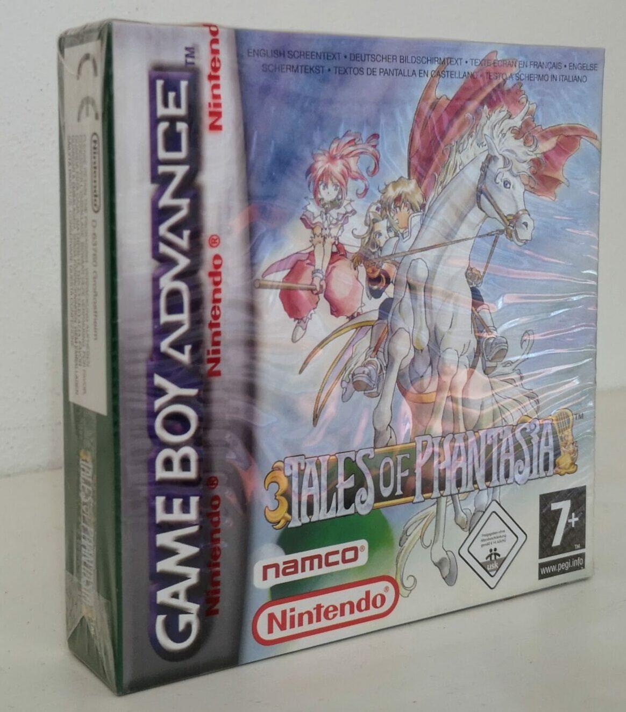 Tales of Phantasia (2006 Nintendo Game Boy Advance), vista copertina frontale