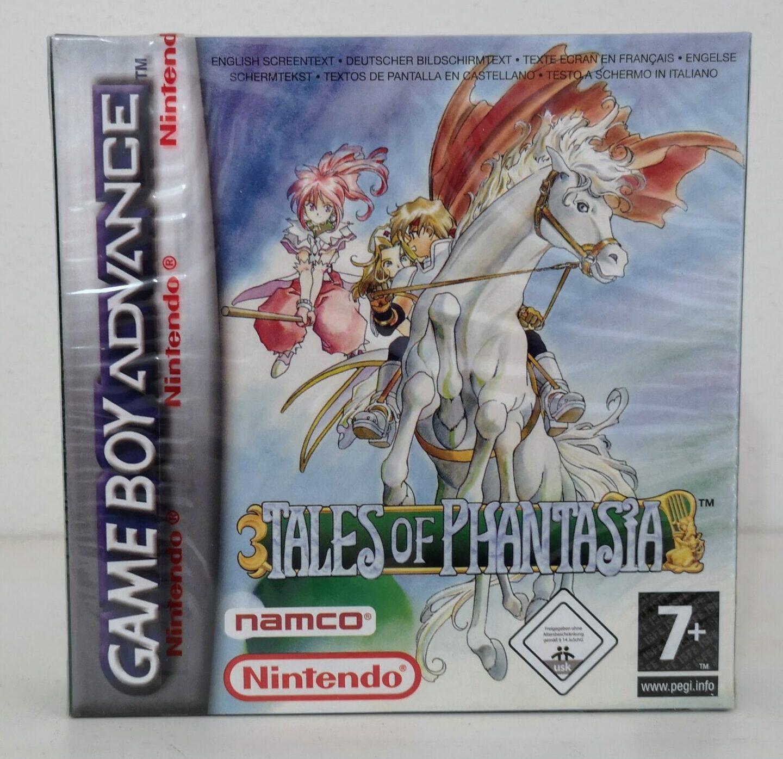 Tales of Phantasia (2006 Nintendo Game Boy Advance), copertina frontale