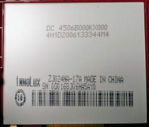 LCD Display InnuLux ZJ024NA-17A