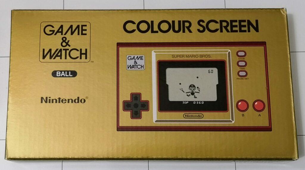 Game & Watch: Super Mario Bros., scatola fronte