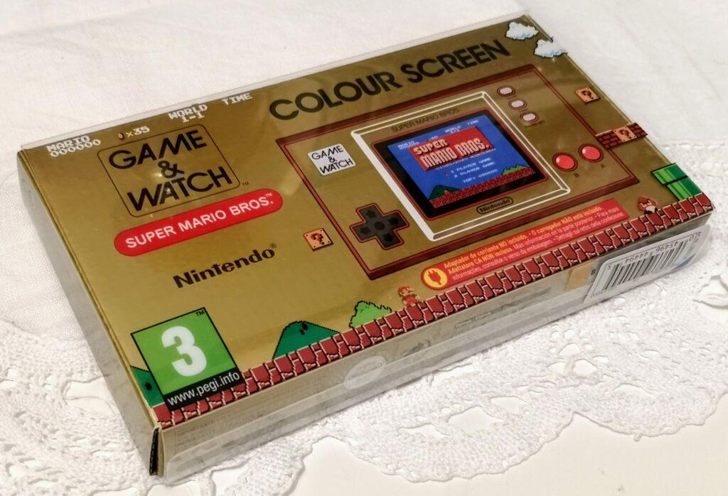Game & Watch: Super Mario Bros., vista fronte confezione