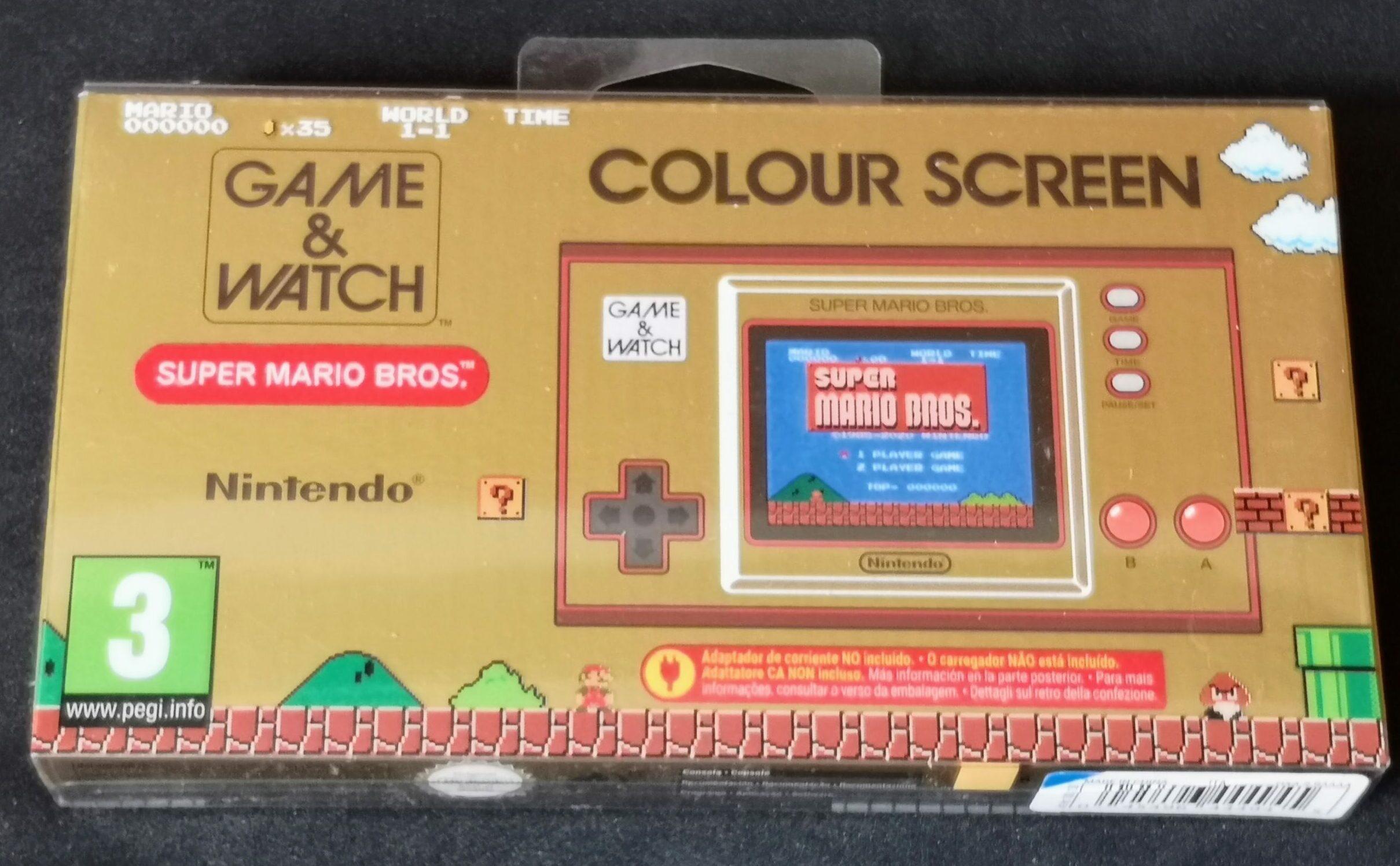 Game & Watch: Super Mario Bros. (nuovo), confezione frontale