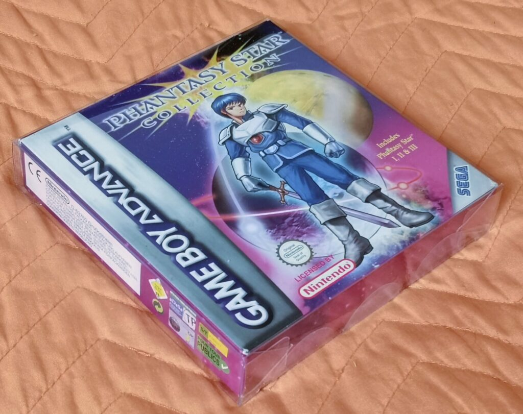 Phantasy Star Collection (2003 Nintendo Game Boy Advance), presentazione gioco