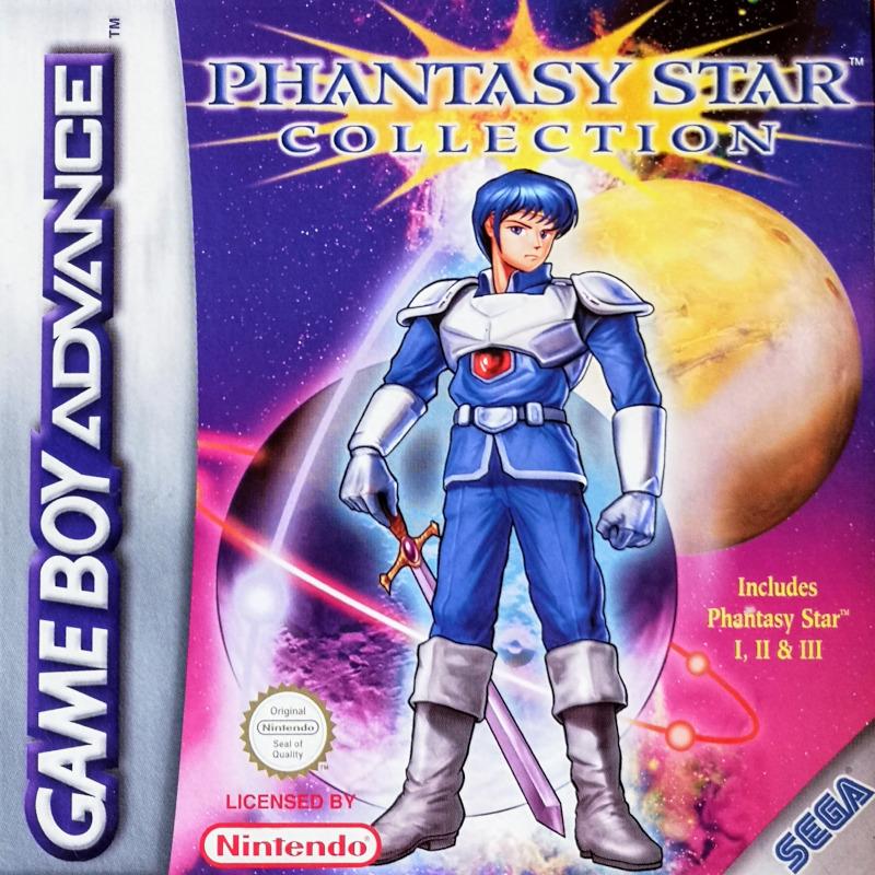 BoxArt di Phantasy Star Collection (2003 Nintendo Game Boy Advance)