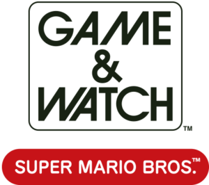 Logo Game & Watch: Super Mario Bros.