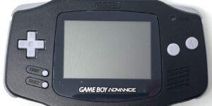 Black Nintendo GBA